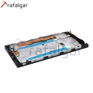 Image 3 - Trafalgar Display For Lenovo P70 LCD Display P70 A P70 T Touch Screen Digitizer For Lenovo P70 Display with Frame Replace