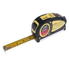 цены Multipurpose Mini Laser Level Line Lasers Horizon Vertical Accurate Measure Tape Aligner Bubbles Ruler Measuring Diagnostic Tool