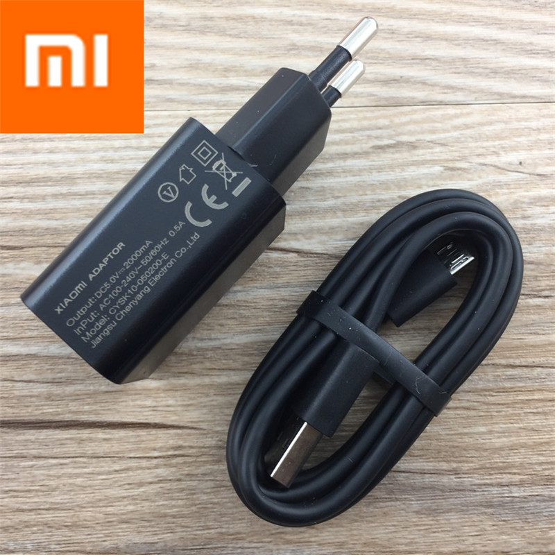 Original XIAOMI Charger Power Adaptor micro USB typc c cable for MI NOTE4 X 6 PLUS 5 5C 5S 4C 4S MIX MAX 2 redmi pro 3 3X 4A 4X-in Mobile Phone Chargers from Cellphones & Telecommunications