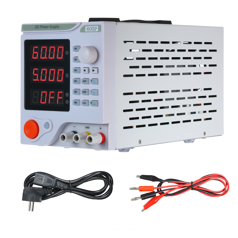605P Programmable DC Linear Power Supply With LED Digital Display