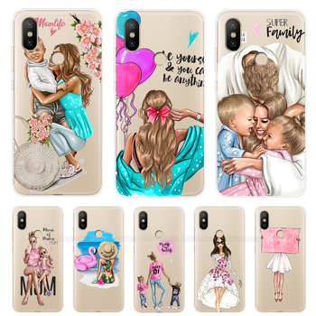 Xiaomi Mi A2 Lite Case Soft TPU Phone Case on For Xiaomi Mi A2 Case Cute Mom Lady Couqe For Xiomi Mi A2 Lite A 2 silicone cover cover for xiaomi mi a2 lite case zroteve wallet leather case for xiaomi mi a2 a1 stand flip cover xiami xiomi a1 a2 lite cases