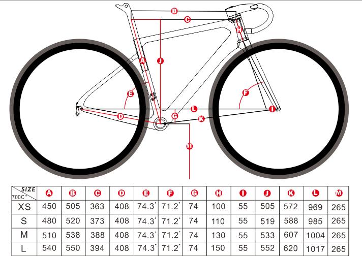 FM659 geometry