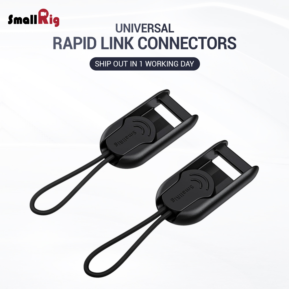 SmallRig Quick Release Rapid Link Connectors With Base Camera Rig For SmallRig Camera Shoulder Strap 2421