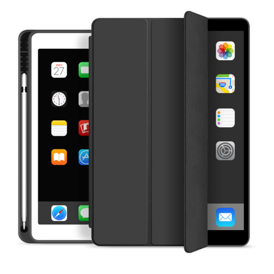 Slim Generation 2019 iPad 10.2 10.2 with For 7th Holder for Stand Case Fold iPad Pencil