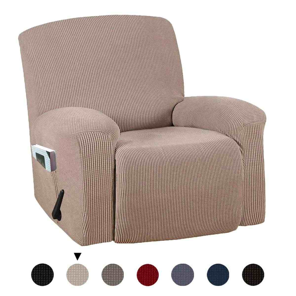 Elastic Recliner Sofa Cover Non slip Chair Cover Removable