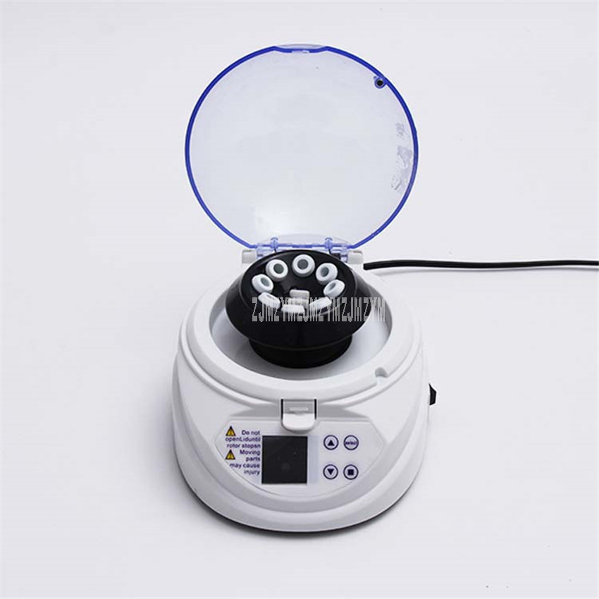 Mini centrifugeuse avec couvercle 12000 tr/min Micro centrifugeuse Machine de pratique médicale séparateur de laboratoire contrôle de synchronisation SM-12K +