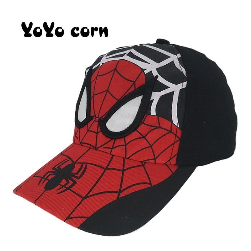 Sombrero ajustable de dibujos animados para bebé, gorros de Sol para niño, gorras de béisbol para niño y niña, gorra de Hip Hop Snapback