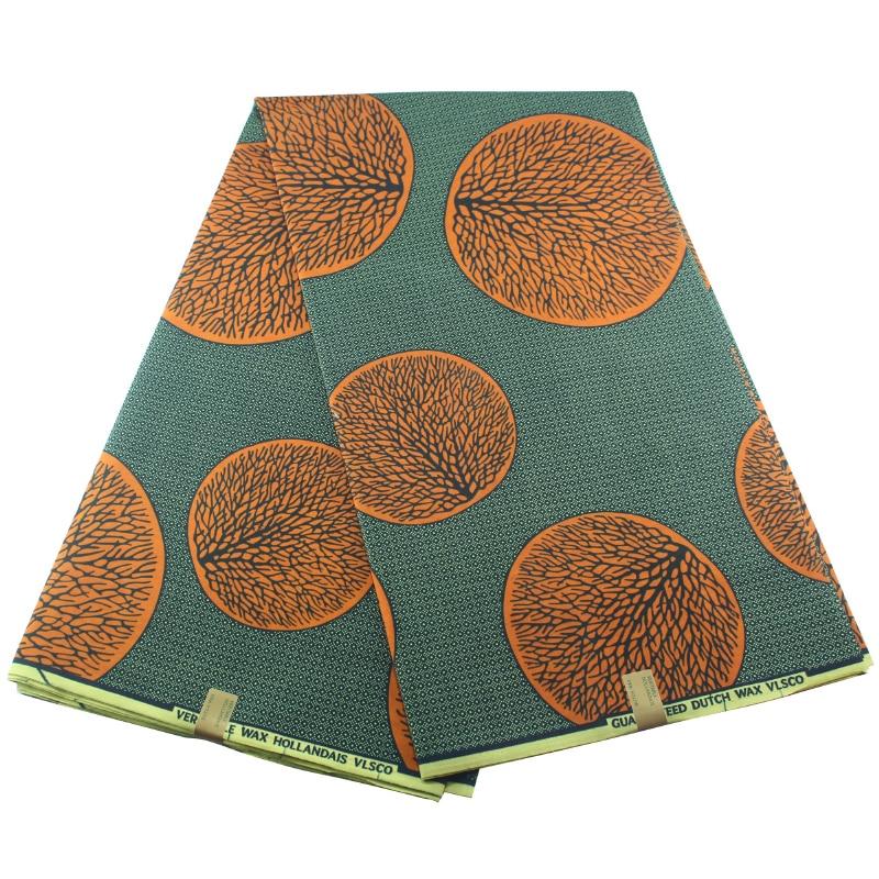 New Arrival African Wax Print Hot Sale Kente Fabrics 6yards Wax Print Fabric Cotton Holland Fabric