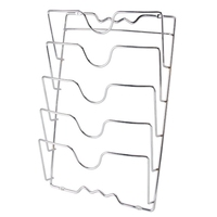 Anti Fall 5 Layer Pot Rack Pot Lid Rack Kitchen Multi Function Cutting Board Kitchen Shelf Storage Rack For Kitchen Tool|Racks & Holders|   -