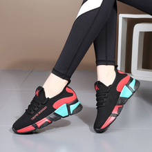 Womens dancing shoes, sports soft soles, mothers square shoes in summer