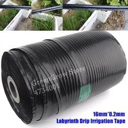 1000 m/Rolle 16mm * 0,2mm Single Blade Labyrinth Tropf Bewässerung Band Landwirtschaft Tropf Schlauch Garten Bauernhof saving Wasser Bewässerung