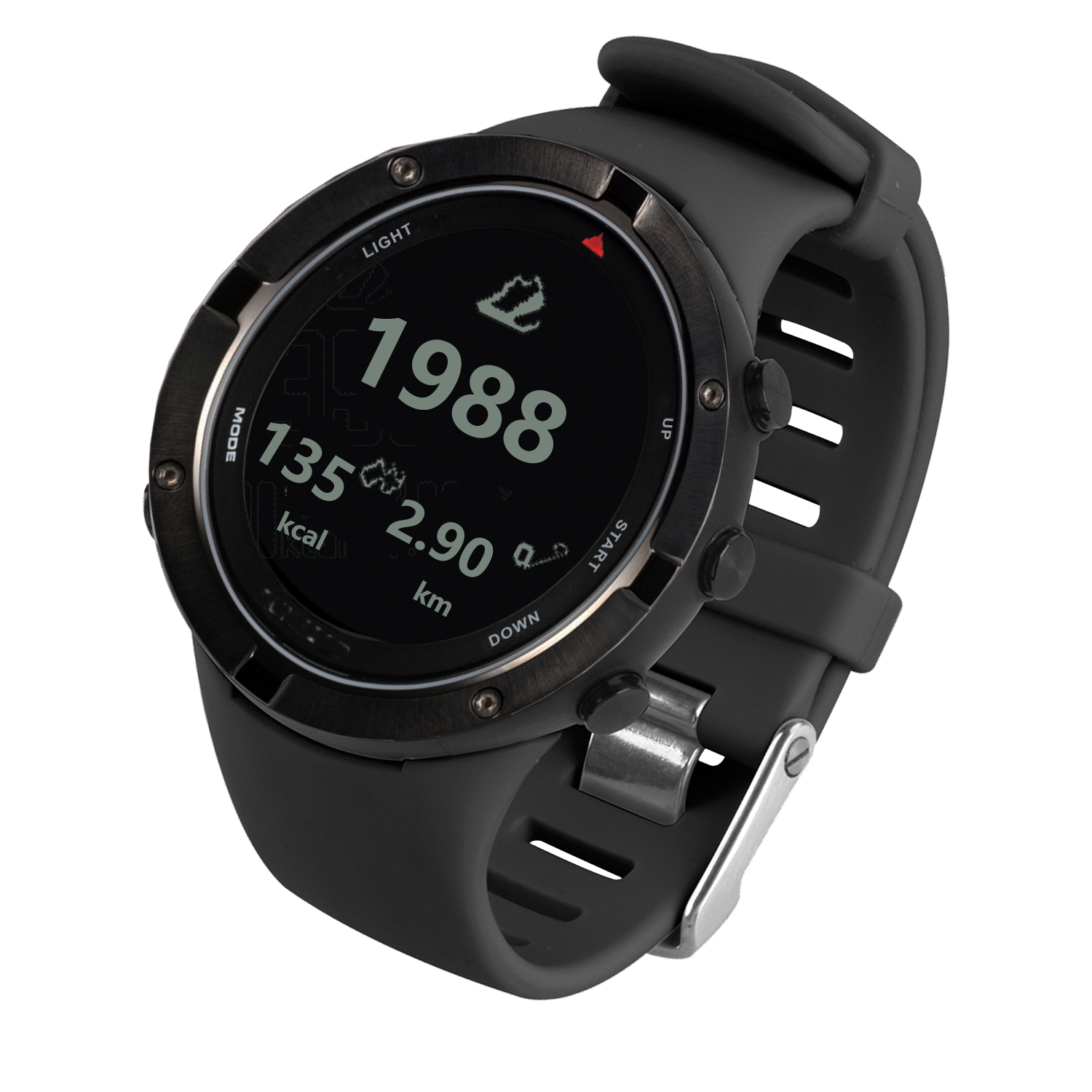 SUNROAD Digital Smart Heart Rate GPS Altimeter Barometer Compass Swimming Triathlon Montre Homme Men Wristwatch image