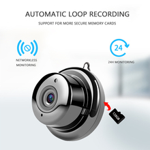 цены 1080P Wireless Mini WiFi Camera Home Security Camera IP CCTV Surveillance  Night Vision Motion Detection SD Card Slot Audio V380
