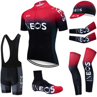 2019 TEAM INEOS cycling clothing 20D bike shorts FULL Suit Ropa Ciclismo quick dry bicycling jersey Maillot sleeves warmers