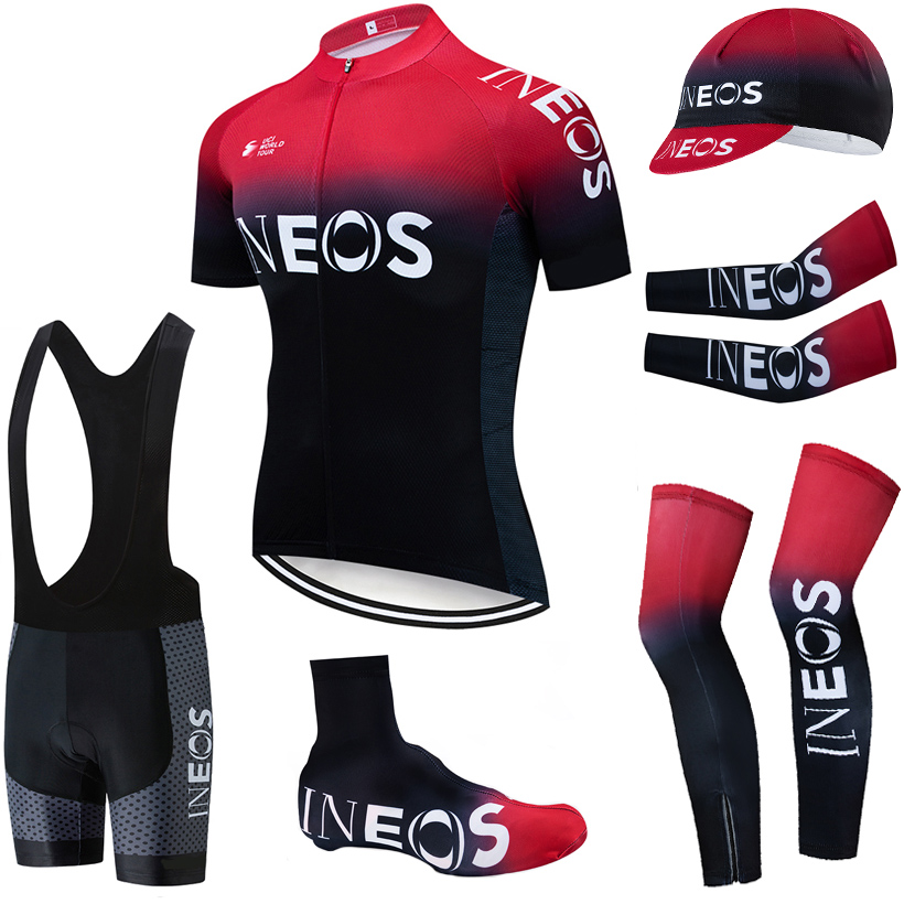 2020 TEAM INEOS cycling clothing 20D bike shorts FULL Suit Ropa Ciclismo quick dry bicycling jersey Maillot sleeves warmers