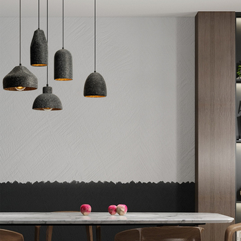 Modern LED Pendant Lights Concrete Cafe Home Decor Decoration Living Room Pendant Lamp Kitchen Fixtures Hanging Lamp Luminaria