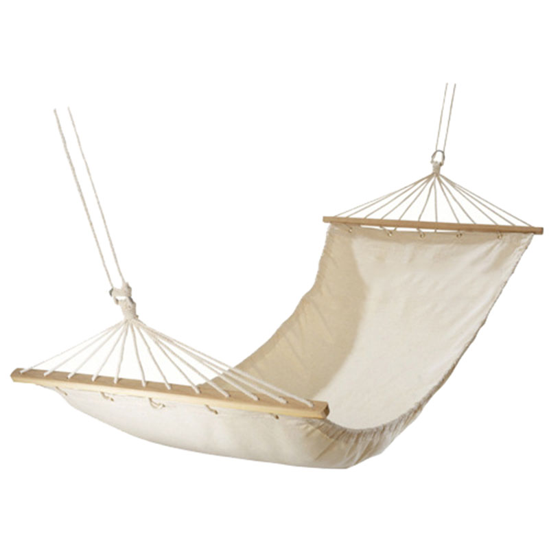 New Solid White Hammock Canvas 100% Cotton Outdoor Camping Accessories With Stick High Quality Single Person Couple Hammocks /30