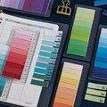 150 листов многоцветный индекс Липкие заметки линейка клейкая блокнот пост планировщик дневник этикетка маркер книга Офис школа F557