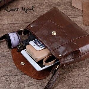 Image 5 - Cobbler Legend 2020 borsa a tracolla/tracolla da donna in vera pelle borse a tracolla piccole da donna cartelle Vintage in pelle bovina femminile