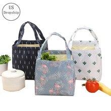 Bolsa de isolamento térmico para mulheres, bolsa para almoço de estudante, criança, isolado, oxford, piquenique, caixa de refrigeração, sacos de gelo