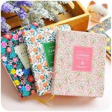A5 a6 нижнее белье с милыми цветами кожаный блокнот дневник
