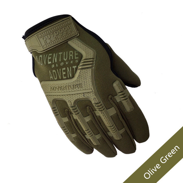 Army Combat Tactical Gloves Men Full Finger Camouflage Paintball Military Gloves SWAT Soldier Shoot Bicycle Mittens handschoenen 1