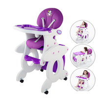 3 In 1 Baby Highchair As Rocking Chair/Desk/Feed Chair