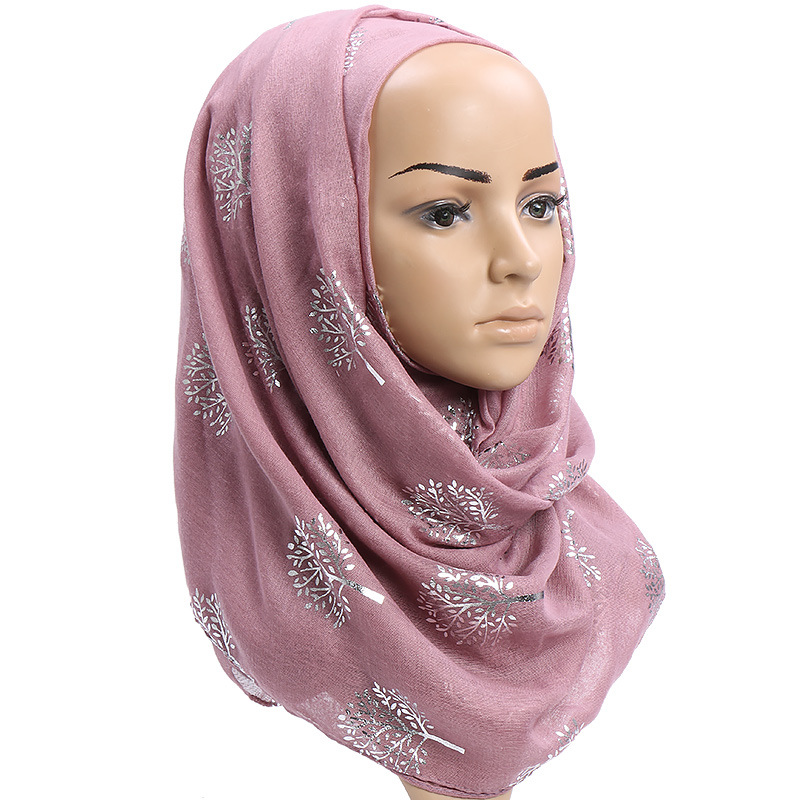 Fashion Cotton Winter Scarf Women Long Sequined Viscose Muslim Hijab Shalw Scarves For Women Pashmina Wraps Ladies Headband