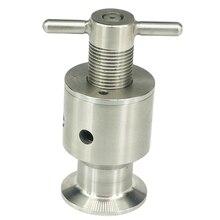 1,5 дюйма три зажима 0,5-5 бар регулируемый перелив предохранительный клапан Защита ферментера предохранительный клапан
