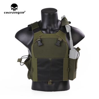 emersongear Emerson LV-MBAV PC Tactical Vest Plate Carrier Lightweight CS Wargame Military Training Protective Gear Body Armor