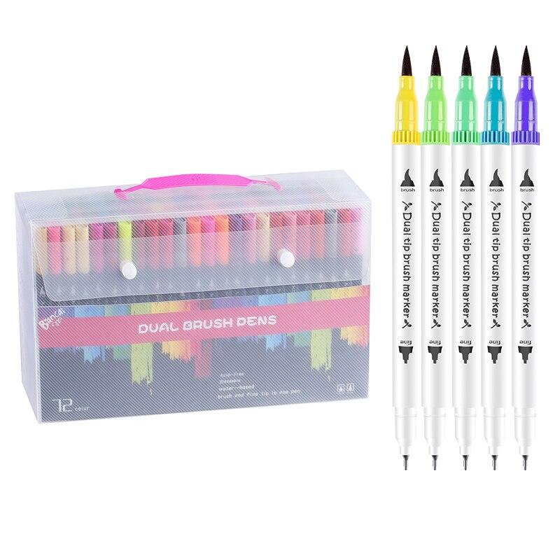 18 Colors 0.4mm line Art Supplies Marker pen Children Graffiti Hook Fiber Pen