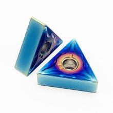 Внешний инструмент карбида вольфрама tnmg160408 04 вставки токарный