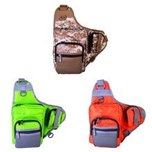Многофункциональная сумка на одно плечо для рыбалки, принадлежности для рыболовных снастей с несколькими карманами, Рыболовные костюмы, жилет для ловли нахлыстом Bg002a
