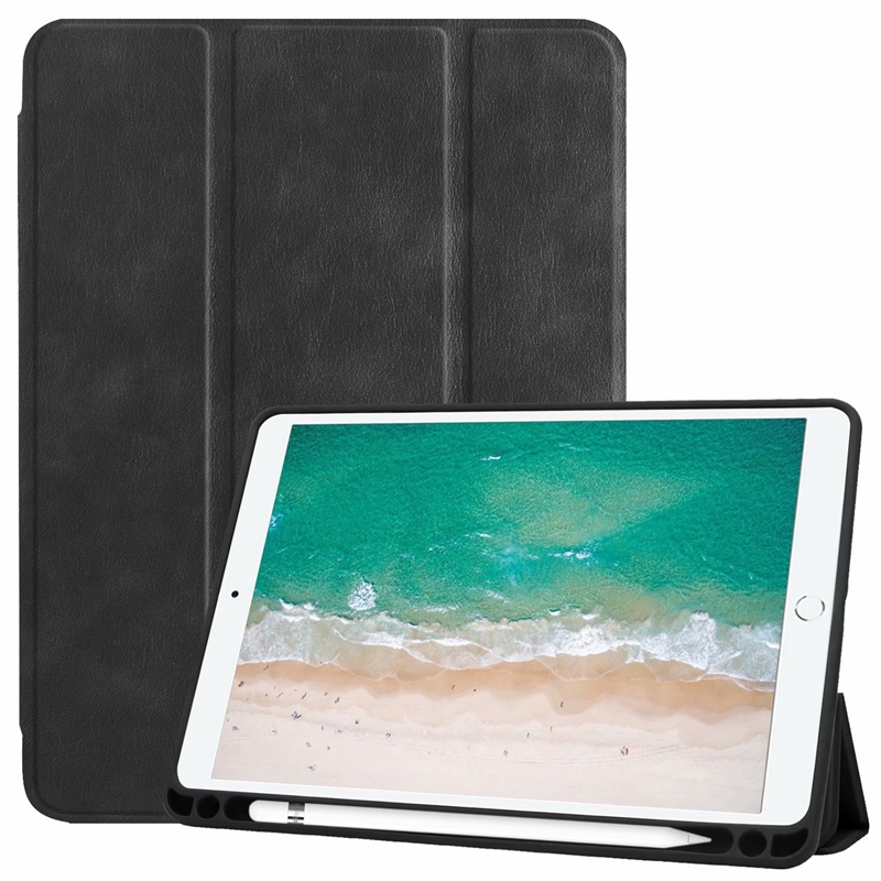 For iPad 9.7 2018 2017 Case Book Flip Cover for iPad Air 2 Air 1 Case 5 6 5th 6th Generation with Stylus Pen Location