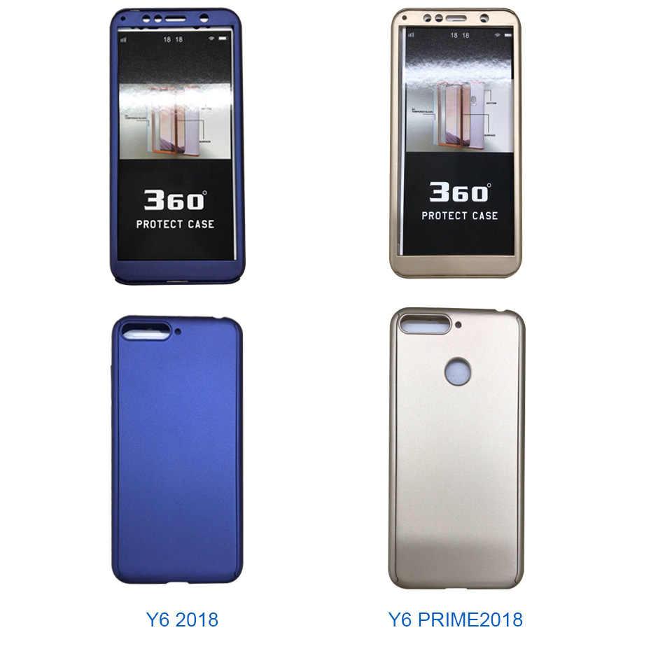 Lüks 360 tam koruyucu kılıf için huawei y9 y7 başbakan y6 pro 2019 kılıf için huawei y6 y7 2018 P akıllı Z y5 2017 telefon kılıfı