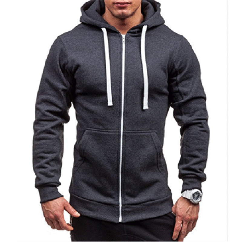 Men's Full-Zip Cotton Hoodies Men's Half Dome Full Zip Hoodie Men's Full-Zip Hooded Sweatshirt Men's Double-Knit Full-Zip Hoodie