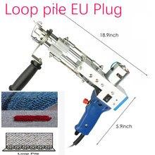 Pistola eléctrica para montar alfombras, máquina de tejido de flocado, bordado Industrial, máquina de tejer con bucle