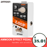 Ammoon POCK LOOP Looper Guitar Effect Pedal Support Playback Reverse Function True Bypass Guitar Accessories