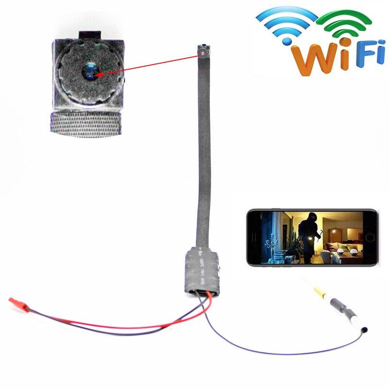 coupon HD 4K WIFI IP Camera P2P Wireless Button Hidden