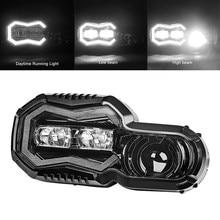 Faro proyector LED de circulación diurna, luz de ojo angular para BMW F700GS, F700, F800GS, Adv, F800, GSA, 2013-2018
