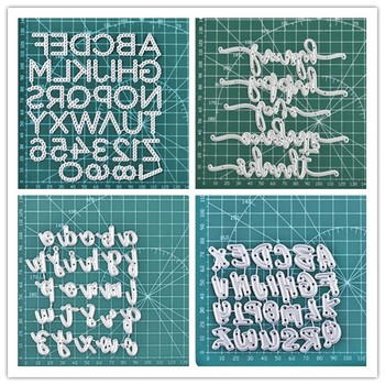 DiyArts 2020 New Letter Dies Metal Cutting Dies Scrapbooking For Card Making Metal Craft Dies Alphabet Die Cuts Embossing diyarts 2020 new letter dies metal cutting dies scrapbooking for card making metal craft dies alphabet die cuts embossing