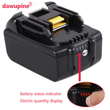 dawupine Li ion Battery Case Charging Protection Circuit Board Label Box For Makita 18V BL1830 3