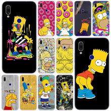 Hot Funny Simpson Soft Silicone Case for Xiaomi