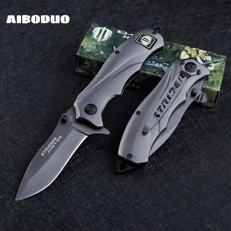56HRC Multifunctionele Folding Tactical Survival Messen Jacht Camping Blade Multi Hoge Hardheid Militaire Survival Mes Pocket