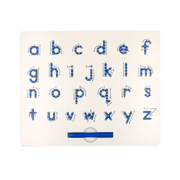 Magnetic Ball Drawing Board Creative Writing Board CHILDREN'S Toy Color Lowercase Lettered