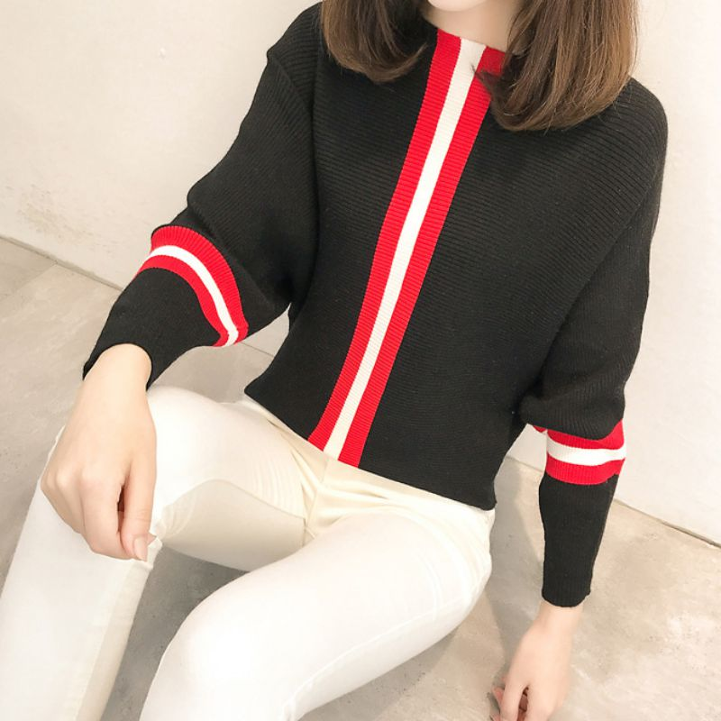 Women Sweater Casual Style Women Knitted Sweater And Pullovers Full Sleeve Ladies Fashion Sweaters Female   Newest