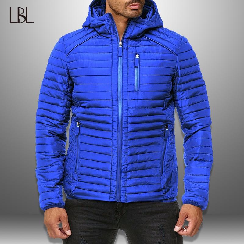 Winter Jackets Parka Men Outwear 2020 New Warm Brand Clothing Slim Mens Coats Autumn Casual Windbreaker Quilted Jackets Men XXXL