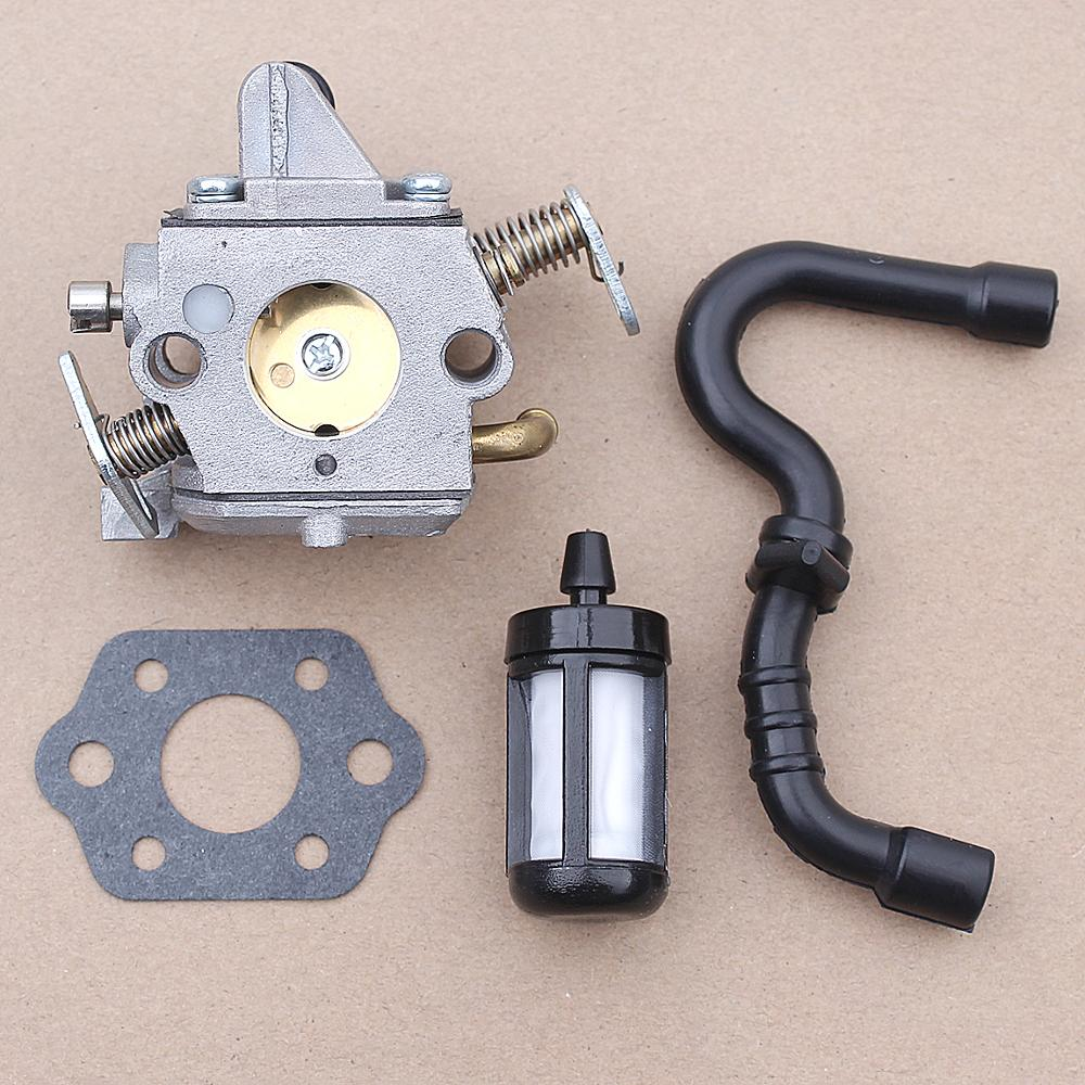 Carburetor Fuel Filter Line Kit For Stihl MS170 MS180 017 018 Chainsaw 1130 120 0603 Zama C1Q-S57, C1Q-S57A, C1Q-S57B