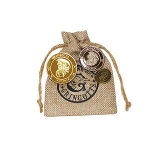 Гарри монеты хогварт банк монеты Косплей коллекция Gringott монета волшебного мира благородный Хэллоуин фанаты Рождества Подарки