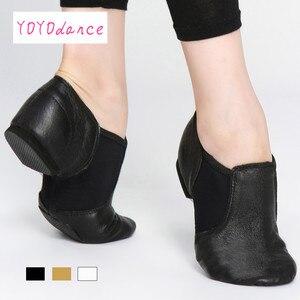 Image 1 - أحذية جاز جديدة موديل 2020 أحذية للرقص والرقص للسيدات باللون الأسود والبالغين والأطفال أحذية جاز للسيدات